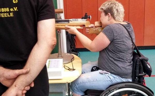 Sportschießen mit Handicap