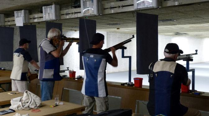 Luftpistole und KKA weiter erfolgreich, Luftgewehr scheitert an Eversael